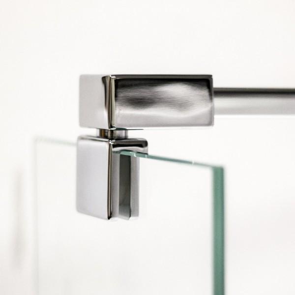 Stabilisator 90° beweglich, 1400 mm für Duschabtrennung