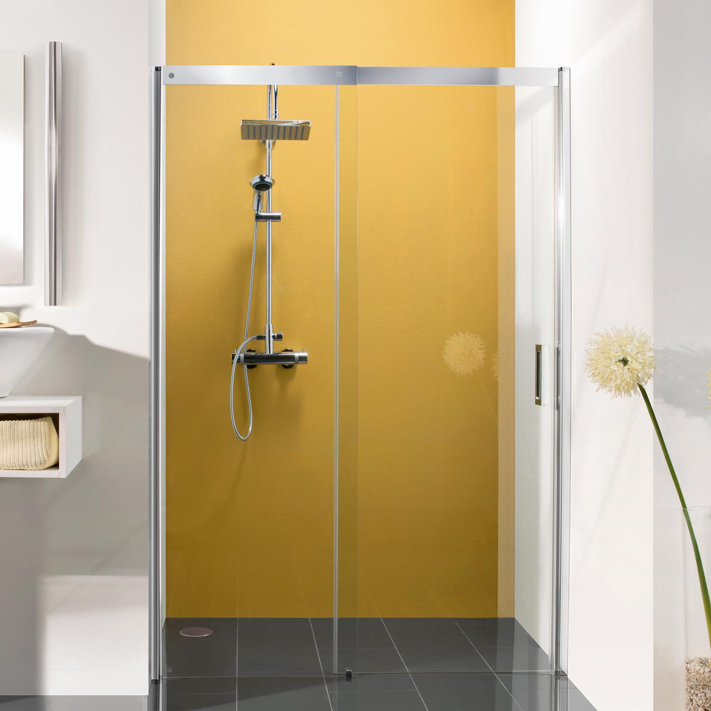 schiebet r f r nische anschlag links mk 800 duschkabinen produkte duschwelten. Black Bedroom Furniture Sets. Home Design Ideas