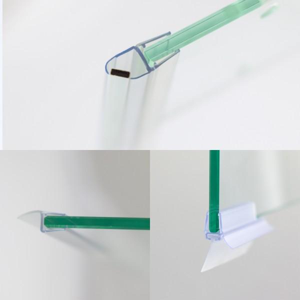 Dichtungsset für 6 mm, Drehfalttür