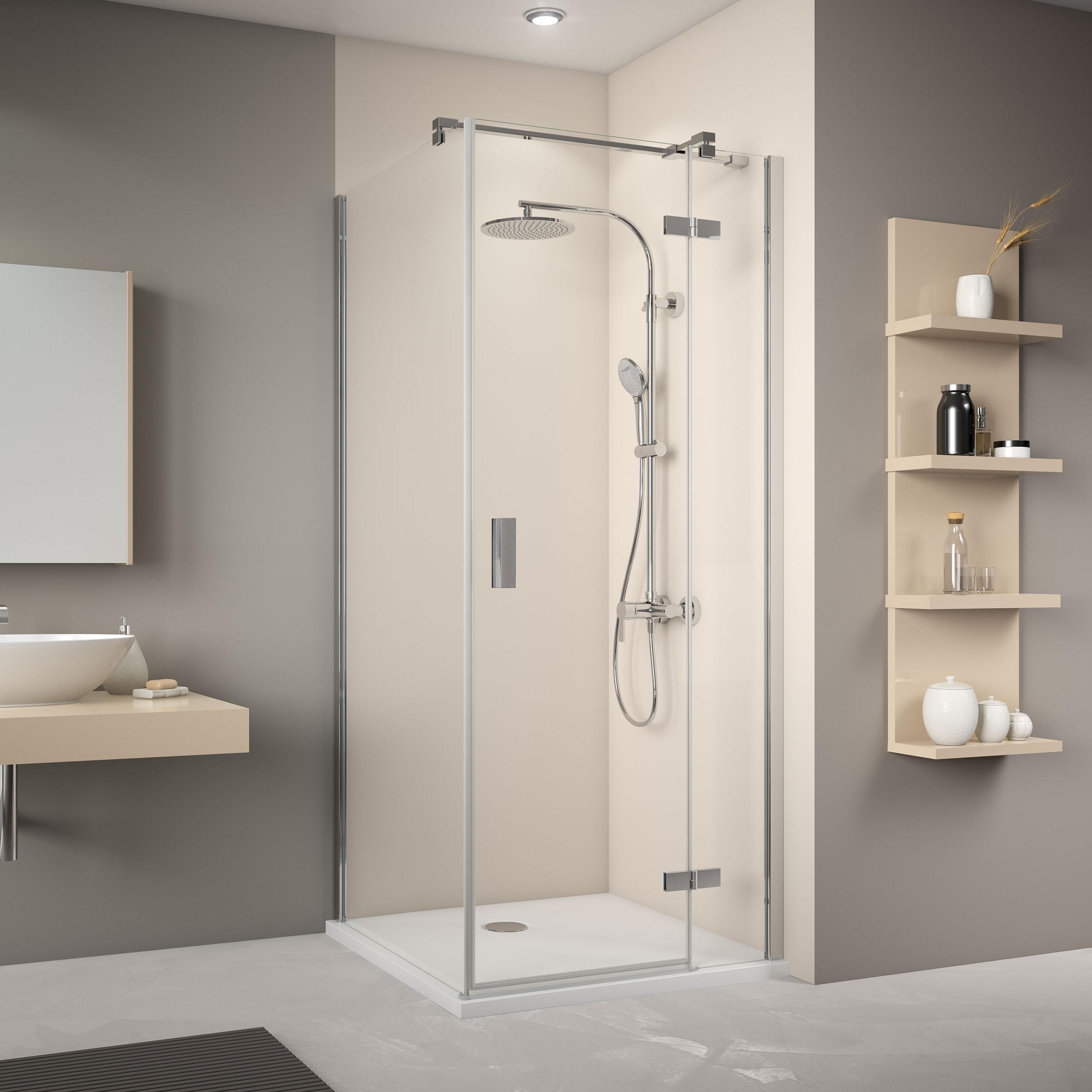 seitenwand f r dreht r mit festteil mk 800 duschkabinen produkte duschwelten. Black Bedroom Furniture Sets. Home Design Ideas
