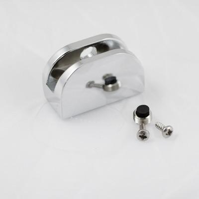 Glashalter komplett mit Montagezubehör für Schiebetür