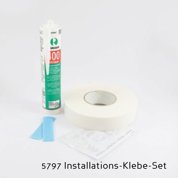 Klebe-Set für die Installation von Rückwänden