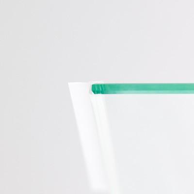 2 x Duschdichtung, gerade, senkrecht, 2010 mm