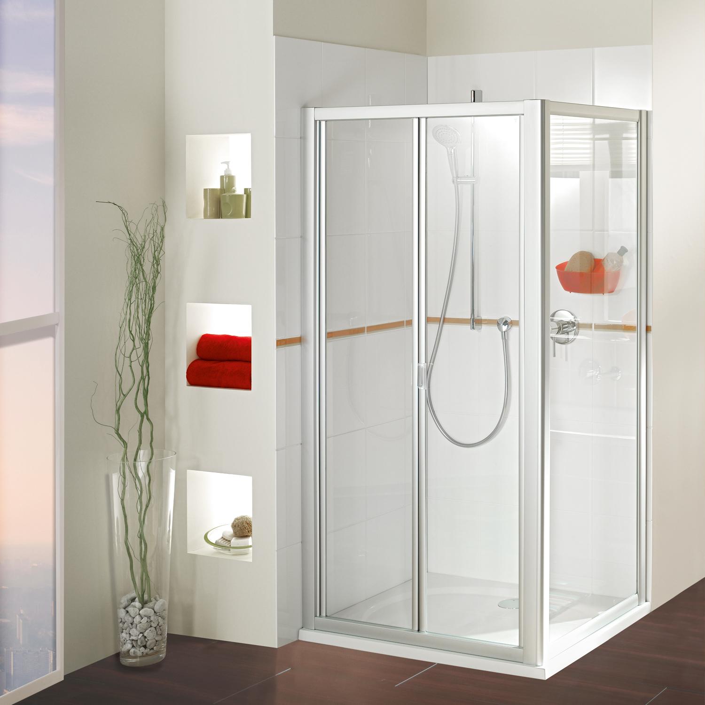duschkabinen der serie mk 400 | duschwelten - Dusche Klapptur