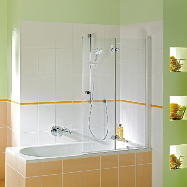 Badewannenaufsatz MK 500: Drehfalttür 2-teilig rechts