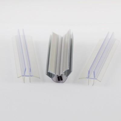 Dichtungsset für Duschabtrennungen, Drehdiagonaleinstieg