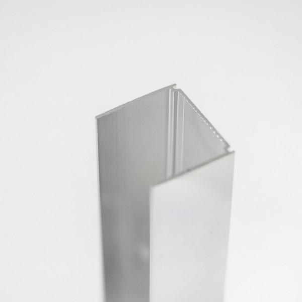 Wandanschlussprofil, gerade, senkrecht, 2000 mm,