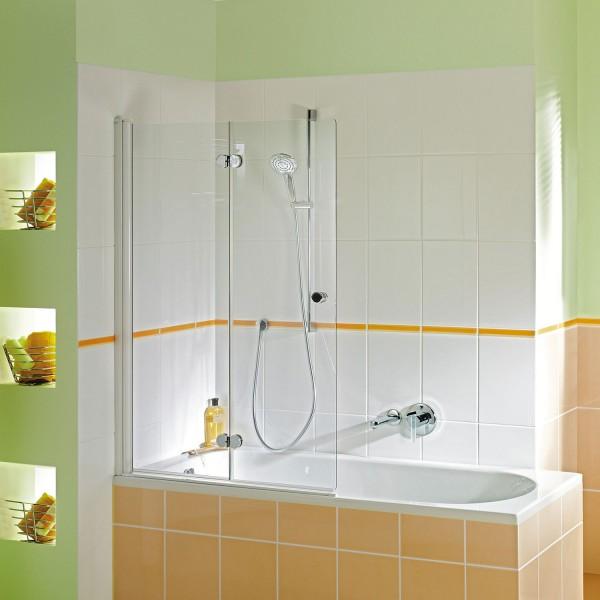 Badewannenaufsatz MK 500: Drehfalttür 2-teilig links