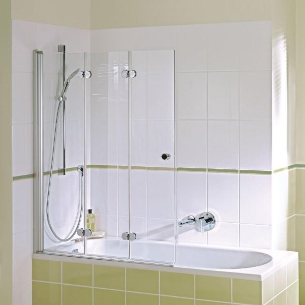 Badewannenaufsatz MK 500: Drehfalttür 3-teilig links