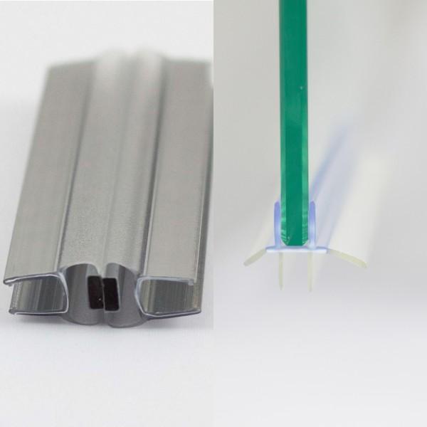 Dichtungsset für 6 mm, Runddusche Drehtür 2-teilig