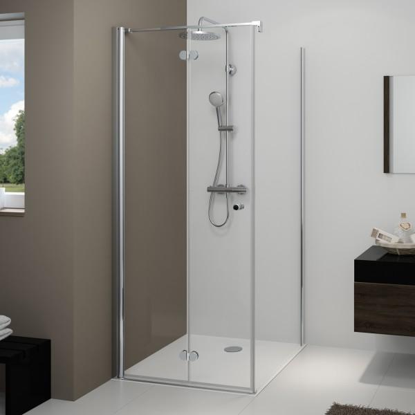 Drehfalttür für Seitenwand / Badewannenseitenwand