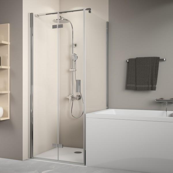 MK800 Badewannenseitenwand rechts für Drehfalttür