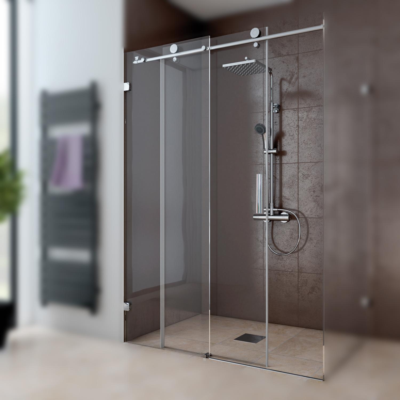schiebet r 2 teilig f r seitenwand anschlag links mk 850 duschkabinen produkte duschwelten. Black Bedroom Furniture Sets. Home Design Ideas