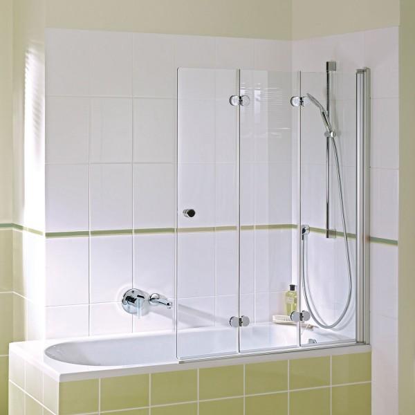 Badewannenaufsatz MK 500: Drehfalttür 3-teilig rechts