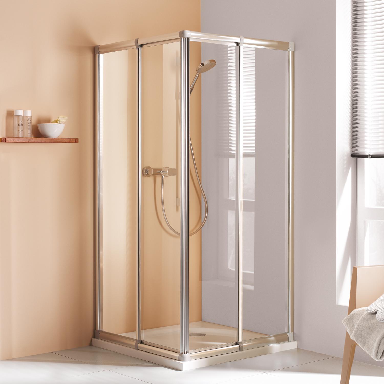 eckeinstieg mit schiebet r h he 1850 mm mk 400. Black Bedroom Furniture Sets. Home Design Ideas