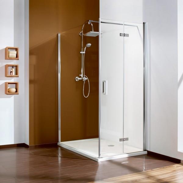 Drehfalttür für Seitenwand/ Badewannenseitenwand, Anschlag rechts