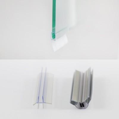 Dichtungsset für Duschabtrennungen, Drehtür & Seitenwand