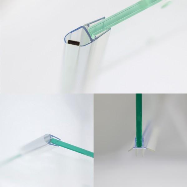 Dichtungsset für 6 mm Glas, Drehtür