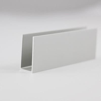Wandanschlussprofil für Seitenwand, gerade, senkrecht,