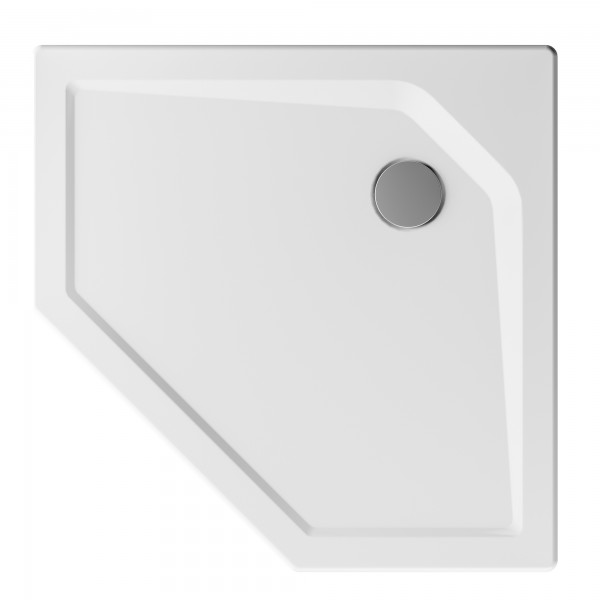 MK klassik: Fünfeck-Duschwanne aus Acryl