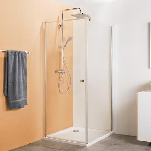 Drehtür für Seitenwand oder Badewannenseitenwand