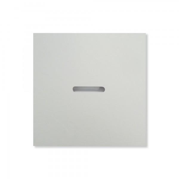 Deckel für MK plan Steinoptik, Weiß
