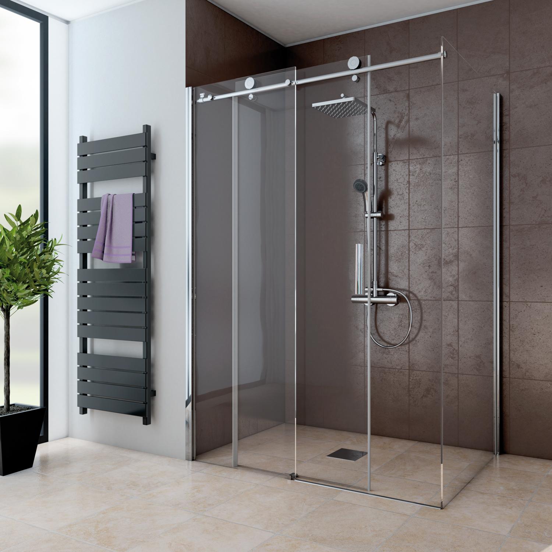 schiebet r 2 teilig f r seitenwand teilgerahmt anschlag links mk 850 duschkabinen. Black Bedroom Furniture Sets. Home Design Ideas