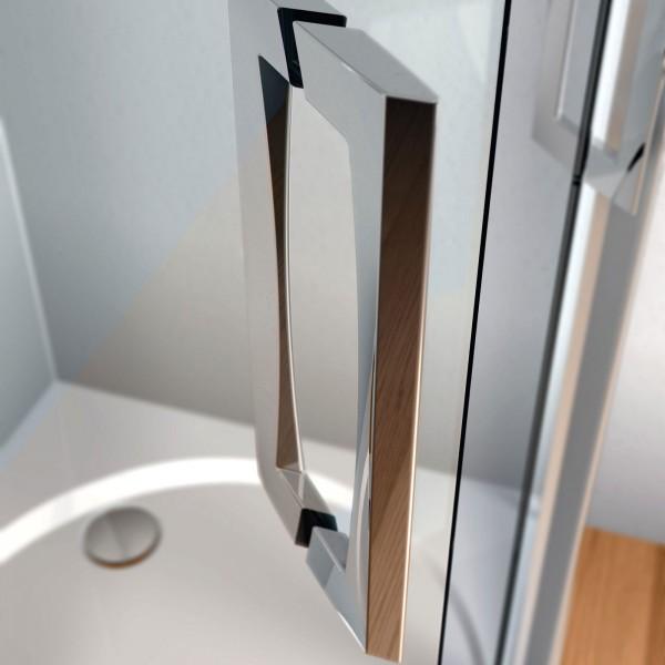 Griff 45° für Duschtüre