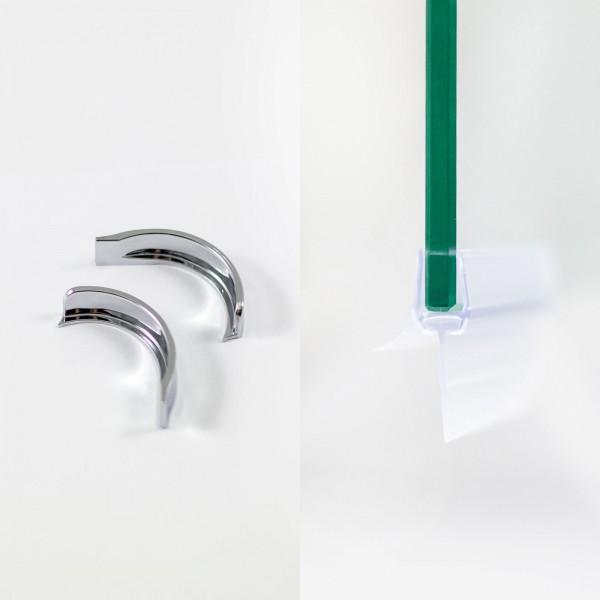 Wasserabweisdichtung für 8 mm, bodengleicher Einbau